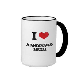 Jag älskar SKANDINAVISK METALL Muggar