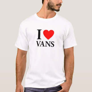 Jag älskar skåpbilar t shirts