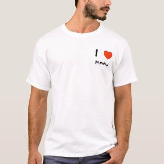 Jag älskar skjortan för Mumbai logotyp T T Shirt