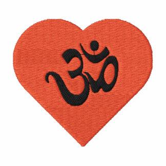 Jag älskar skjortan för Yoga (för hjärta) broderad
