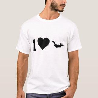 Jag älskar Skydiving T-shirt