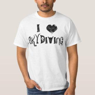 Jag älskar Skydiving Tshirts