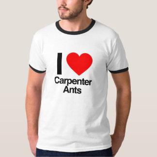 jag älskar snickaremyror tee shirts