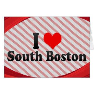 Jag älskar södra Boston, United States OBS Kort