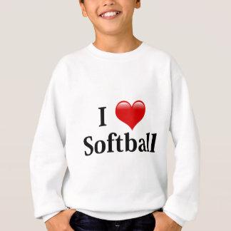 Jag älskar softball tröja