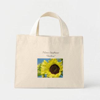 Jag älskar solrosträdgårdar! Tote bagssolrosor Tote Bag