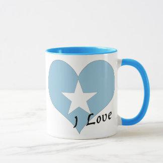 Jag älskar Somalia Mugg
