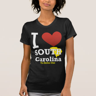 Jag älskar South Carolina T Shirts