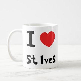 Jag älskar St Ives Kaffemugg