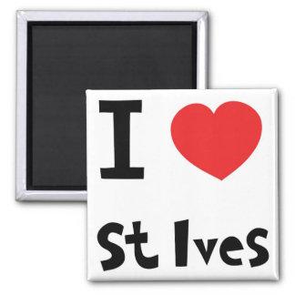 Jag älskar St Ives Magnet
