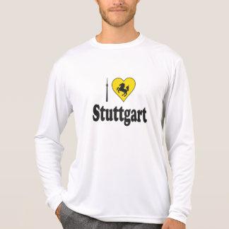 Jag älskar Stuttgart Stadtwappen T-shirt