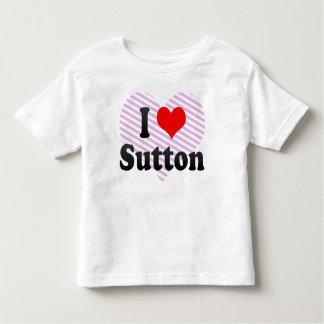 Jag älskar Sutton, United Kingdom Tee Shirts