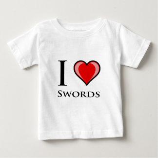 Jag älskar svärd t-shirt