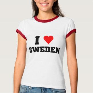 Jag älskar sverige tee shirt