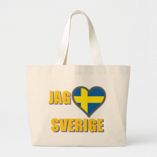 Jag älskar sverigen (jagen Älskar Sverige) Tygkassar