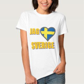 Jag älskar sverigen (jagen Älskar Sverige) Tröjor