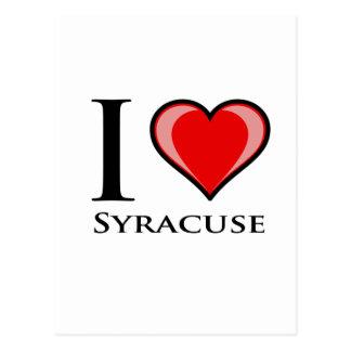 Jag älskar Syracuse Vykort