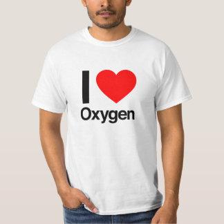 jag älskar syre t-shirts
