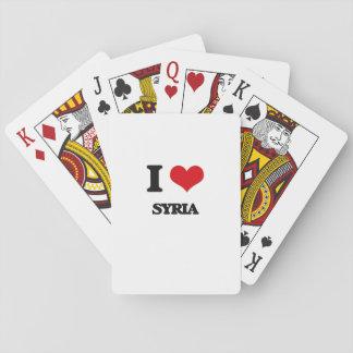 Jag älskar Syrien Kortlek