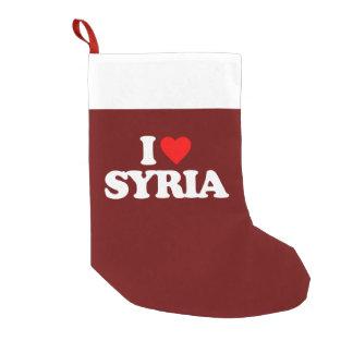 JAG ÄLSKAR SYRIEN LITEN JULSTRUMPA