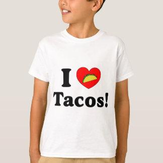 Jag älskar tacosen tee shirts