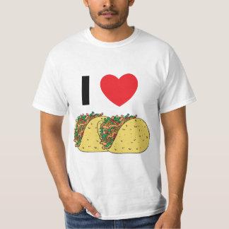 Jag älskar tacosen tshirts