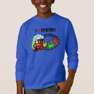 Jag älskar tåg t shirt