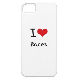 Jag älskar tävlingar iPhone 5 cases
