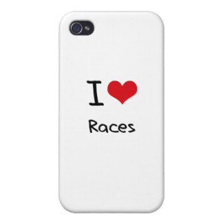 Jag älskar tävlingar iPhone 4 cover
