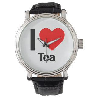 Jag älskar Tea Armbandsur