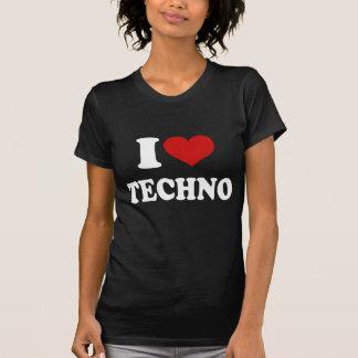 Jag älskar Techno T Shirts