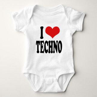 Jag älskar Techno Tshirts