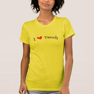 Jag älskar tennis - mer design för sportar w/this t shirt