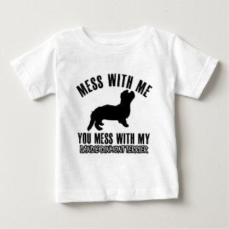 Jag älskar TERRIER.EN för DANDIE DINMONT Tshirts
