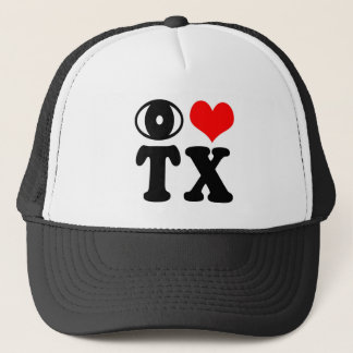 Jag älskar Texas Truckerkeps