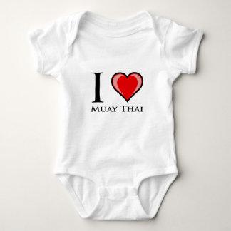 Jag älskar thailändska Muay Tee