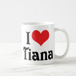 Jag älskar Tiana Kaffemugg