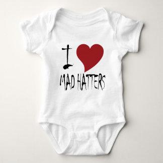 Jag älskar tokiga Hatters Tee Shirt