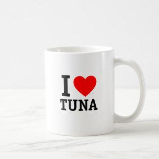 Jag älskar tonfisk kaffemugg