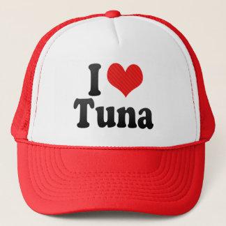 Jag älskar tonfisk truckerkeps