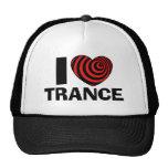 Jag älskar Trance Baseball Hat