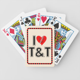 Jag älskar Trinidad & Tobago Spelkort