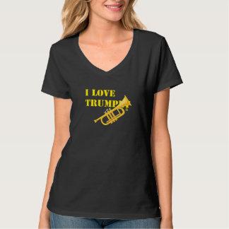 Jag älskar trumpeten t shirts
