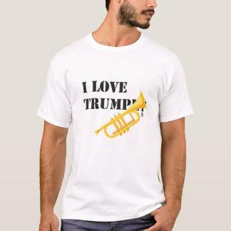 Jag älskar trumpeten tee shirt