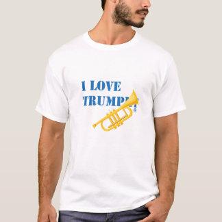 Jag älskar trumpeten tröjor