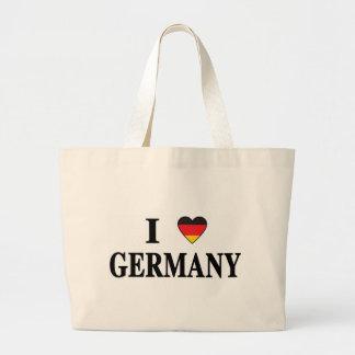 Jag älskar Tyskland Tote Bags