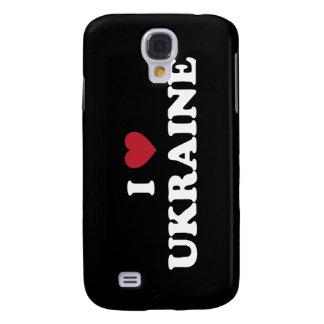 Jag älskar Ukraina Galaxy S4 Fodral