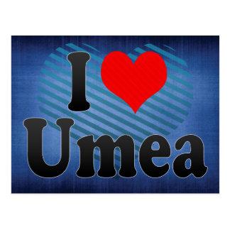 Jag älskar Umea, sverige Vykort