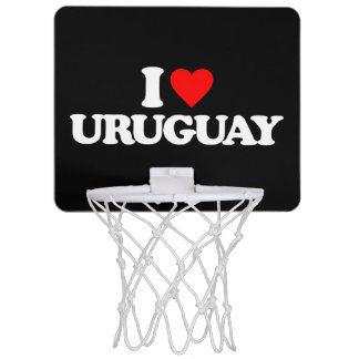 JAG ÄLSKAR URUGUAY Mini-Basketkorg