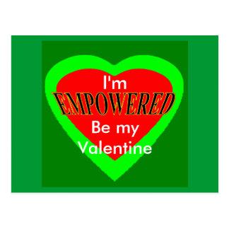 Jag älskar * valentin daggåvor är min valentin vykort